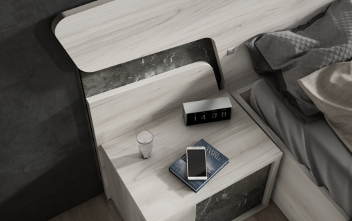 Dormitorio moderno 9
